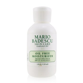 Mario Badescu Oil Free Moisturizer SPF 17 - For Combination/ Oily/ Sensitive Skin Types