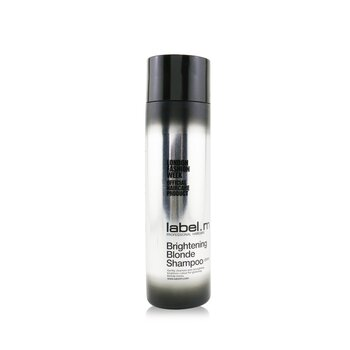 Label.M Brightening Blonde Shampoo (Gently Cleanses and Strengthens, Brightens Colour For Glistening Blonde Tones)