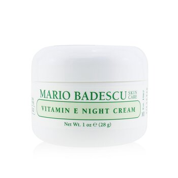 Mario Badescu Vitamin E Night Cream - For Dry/ Sensitive Skin Types