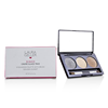 Laura Geller Baked Cream Glaze Trio Eyshadow Palette With Brush - # Golden Sunset