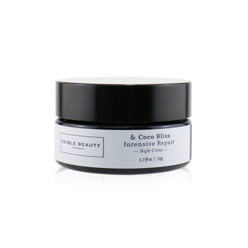 Edible Beauty & Coco Bliss Intensive Repair Night Creme