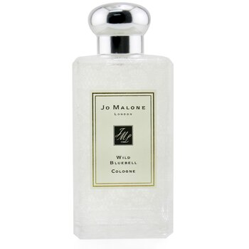 Jo Malone Wild Bluebell Cologne Spray With Wild Rose Lace Design (Originally Without Box)