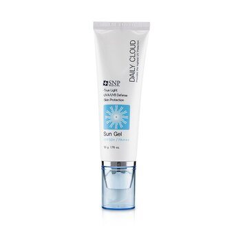 SNP Daily Cloud SPF 50+ Sun Gel (UVA/UVB Defense) (Exp. Date: 08/2021)