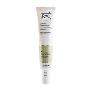 ROC Retinol Correxion Wrinkle Correct Night Cream - Advanced Retinol With Exclusive Mineral Complex
